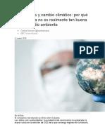 Coronavirus y cambio climático