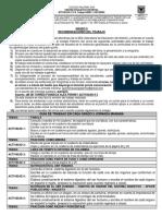 ACTIVIDADES SEMANAS TRABAJO EN CASA GRADOS QUINTO JM 2020