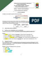 Guía de Trabajo ALGEBRA 802- Semana 3