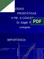 01 - PATOLOGIAS DA PRÓSTATA