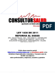 Ley 1438 de 2011 - Reforma el SGSSS