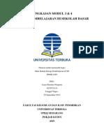 RINGKASAN MODUL 3-4 PDGK4105 STRATEGI PEMBELAJARAN