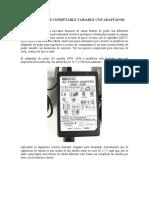 FUENTE DE PODER CONMUTABLE VARIABLE CON ADAPTADOR DE AC