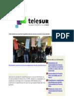 14-02-11 Universitarios puertorriqueños inician nueva jornada de protestas