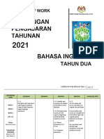 SOW ENGLISH YEAR 2 2021 by RozayusAcademy