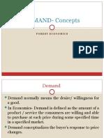 DEMAND- Concepts