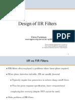 3F3 6 Design of IIR Filters