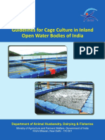 Guidelines for Cage Culture in Inland Open Water Bodies of India