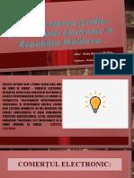 Reglementarea juridică a comerțului electronic în Republica Moldova