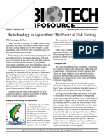 biotechnology in aquaculture