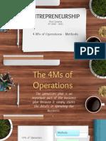 4Ms - Methods