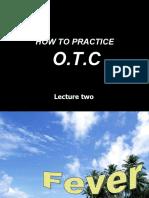 Otc Practice Lec 2