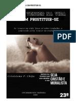 E-Book, Como vencer na vida sem prostituir-se(Crisóstomo Paulo Chipa)