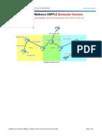 10.2.4.3 Packet Tracer - Troubleshoot Multiarea OSPFv2 - ILM