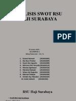 analisis swot RSU Haji surabaya