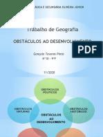 GEO 9º - Gonçalo Pinto