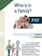 Lesson 2 - Family