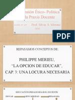 Presentación de Merieu