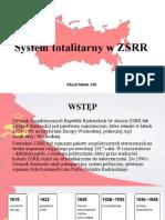 System totalitarny w ZSRR