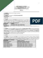 Agenda ordinaria CF 05.02.2011
