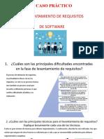 EL LEVANTAMIENTO DE REQUISITOS DE SOFTWARE - presentacion caso practico TI037