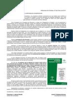 Carta Organización remisión de material _Paisaje III_