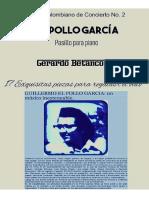 EL POLLO GARCIA. Pasillo para piano. Por Gerardo Betancourt.