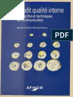 l'audit qualité interne, la démarche et techniques de communication