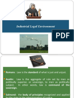 Industrial Legal Environment (3)