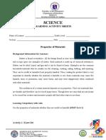 DEES Science LAS