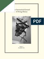 International Journal of Diving History 7 (2014)