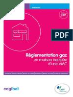 Aide-memoire Cegibat - Reglementation Gaz en Maison Equipee Dune Vmc