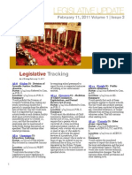 CALCASA Legislative Update 02/11/11