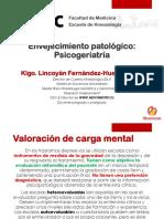 GCP [UCSC] Clase 7 - Envejecimiento patológico Psicogeriatría (T) (2018-20)