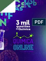 3000 QUESTÕES DE QUÍMICA