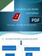 Come si analizza un testo narrativo