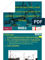 La coordinación de seguridad y salud en la construcción de la ciudad de la justicia de barcelona