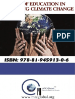 Book~Role of Education in Combating Climate Change, ISBN