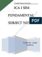 DCA Fundamental All Units