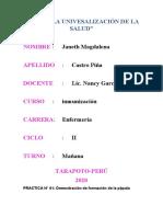 INFORME DE PRACTICA DE LABORATORIO