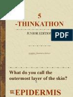 5 -THINKATHON JUNIOR EDITION