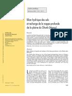 Bilan hydrique des sols et recharge de la nappe profonde de la plaine du Gharb (Maroc).pdf
