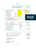 Pipes. Wall thickness calculation according ASME B31.3.ods