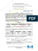 certificado jose