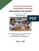 PEI I.E.I. MILAGROS DE MARIA-CARLOS HENOSTROZA M