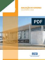 AVALIAÇÃO DO GOVERNO DEZEMBRO 2020