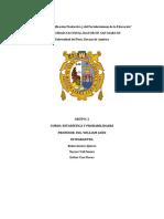 MUESTREO,VARIACION Y TERMINOLOGIA ESTADISTICO