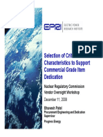 CC Selection Presentation EPRI