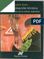 Beatriz Sarlo - La imaginación técnica.pdf
