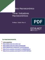 PPT Análisis Macroeconómico 08-7001 Tema Indicadores Macro